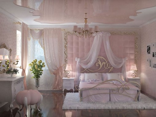 Lovely Girly Bedroom Design37