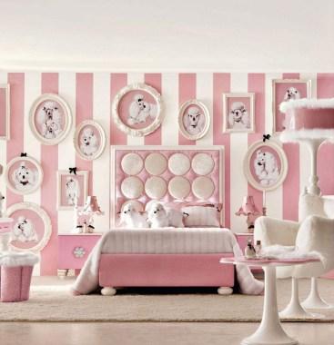 Lovely Girly Bedroom Design38