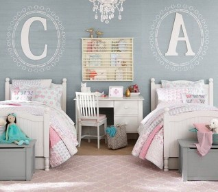Lovely Girly Bedroom Design47