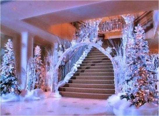 Lovely Winter Wedding Decoration11