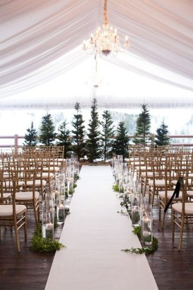 Lovely Winter Wedding Decoration29