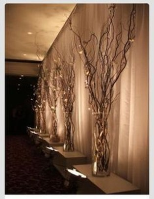 Lovely Winter Wedding Decoration48