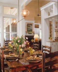 Marvelous French Country Dinning Room Table Design05