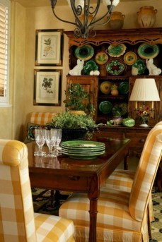 Marvelous French Country Dinning Room Table Design07