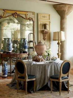 Marvelous French Country Dinning Room Table Design08