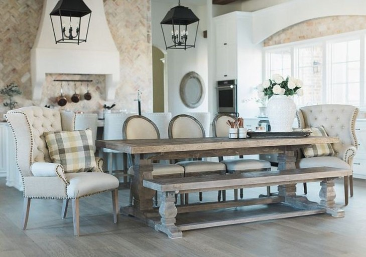 Marvelous French Country Dinning Room Table Design23