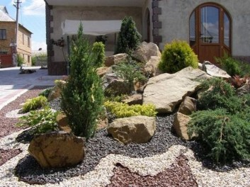 Marvelous Rock Stone For Your Frontyard30