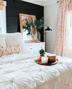 Modern White Farmhouse Bedroom Ideas15