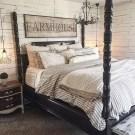 Modern White Farmhouse Bedroom Ideas16