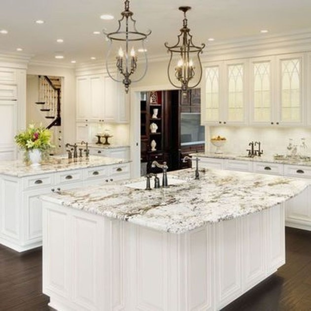 Stunning White Kitchen Ideas42