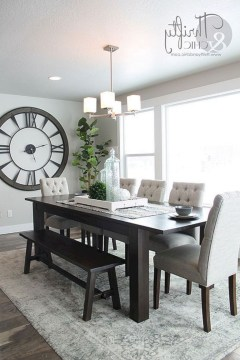 Top Dining Room Table Decor25