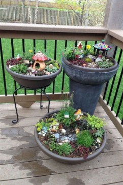 Beautiful Fairy Garden Ideas35
