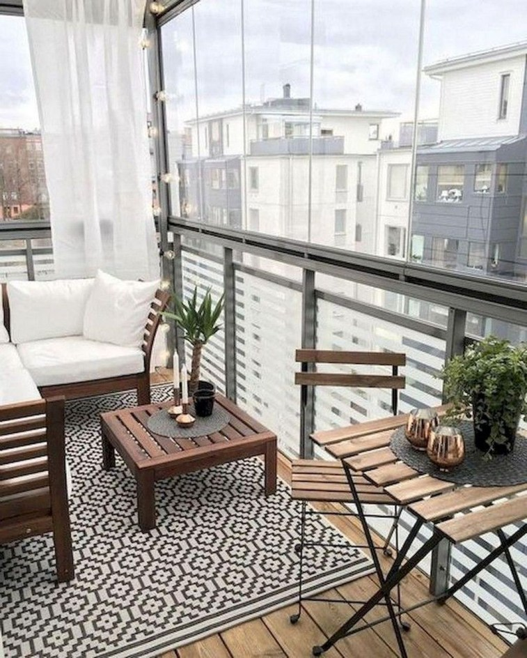 Comfy Apartment Balcony Decorating01