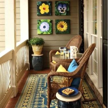 Comfy Apartment Balcony Decorating03