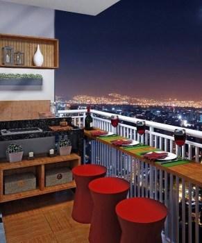 Comfy Apartment Balcony Decorating27