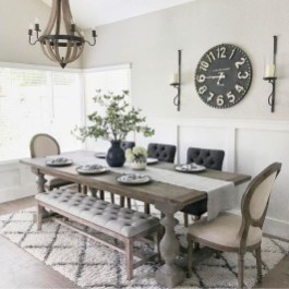 Stunning Country Dining Room Design Ideas01