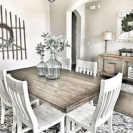 Stunning Country Dining Room Design Ideas04