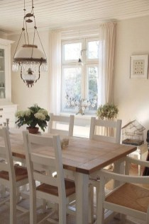 Stunning Country Dining Room Design Ideas10