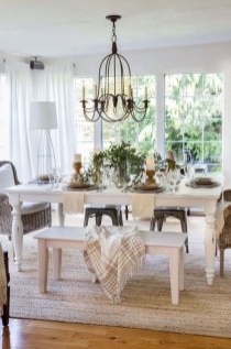 Stunning Country Dining Room Design Ideas12