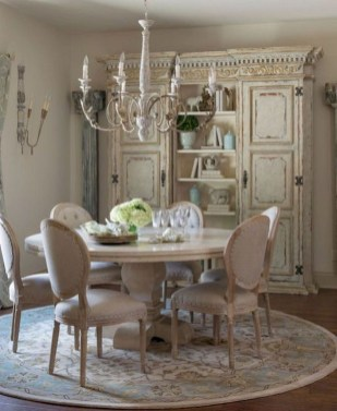 Stunning Country Dining Room Design Ideas15