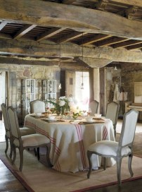 Stunning Country Dining Room Design Ideas20