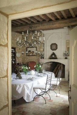 Stunning Country Dining Room Design Ideas37