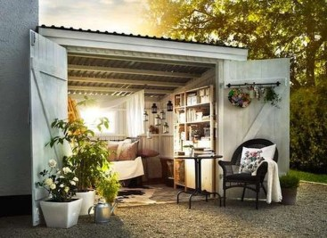 Awesome Comfy Backyard Studio Ideas06