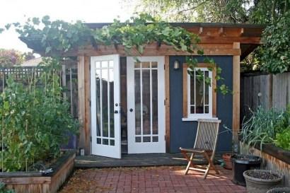 Awesome Comfy Backyard Studio Ideas21