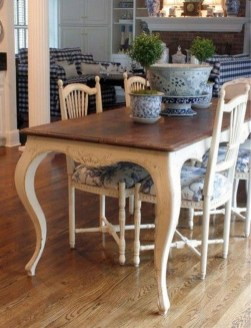 Awesome Country Dining Room Table Decor Ideas08