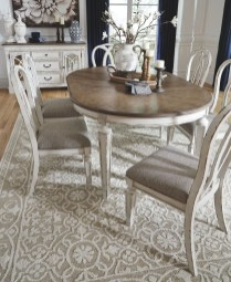 Awesome Country Dining Room Table Decor Ideas11