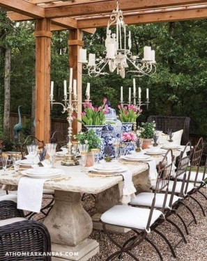 Awesome Country Dining Room Table Decor Ideas16