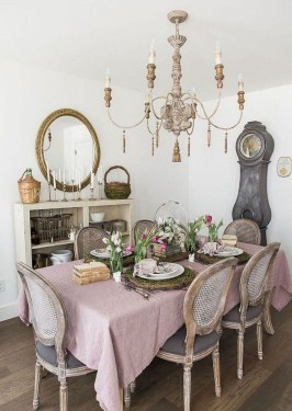 Awesome Country Dining Room Table Decor Ideas17