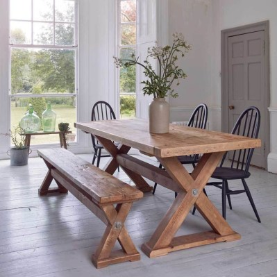 Awesome Country Dining Room Table Decor Ideas39