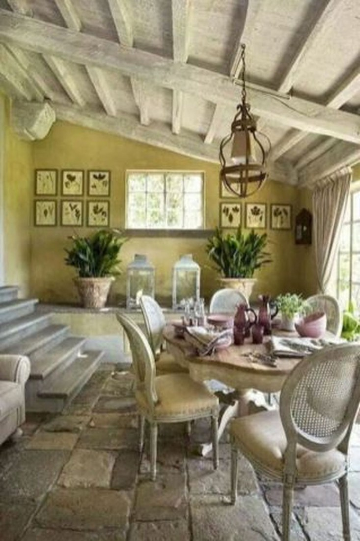 Awesome Country Dining Room Table Decor Ideas40