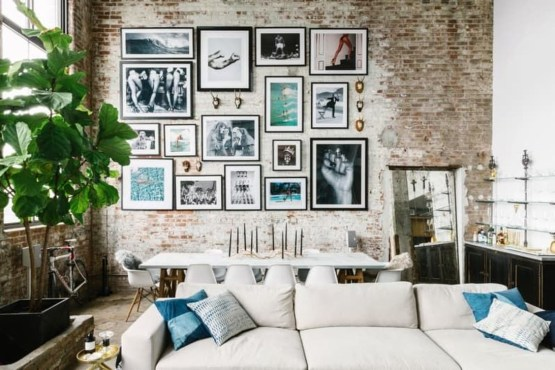 Awesome Creative Collage Apartment Decoration15