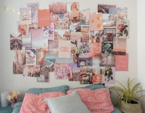 Awesome Creative Collage Apartment Decoration22