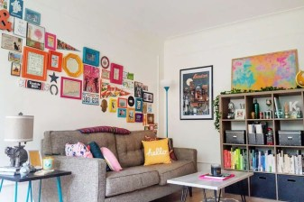 Awesome Creative Collage Apartment Decoration25