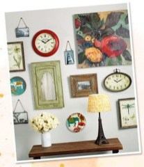 Awesome Creative Collage Apartment Decoration34