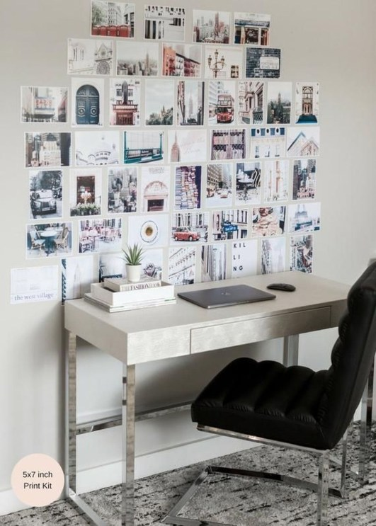 Awesome Creative Collage Apartment Decoration36