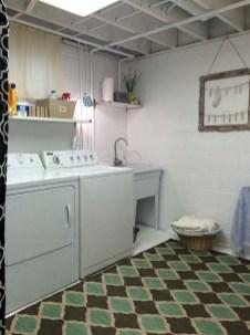 Beautiful Laundry Room Tile Design01