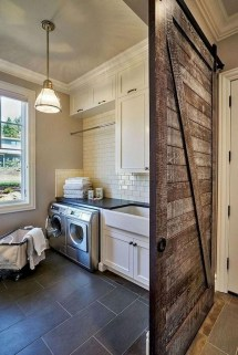 Beautiful Laundry Room Tile Design11