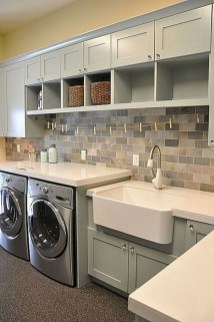 Beautiful Laundry Room Tile Design12