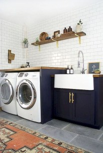 Beautiful Laundry Room Tile Design20