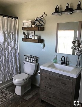 Best Farmhouse Bathroom Remodel17