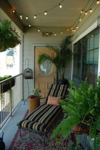 Exciting Small Balcony Decorating For Farmhouse21