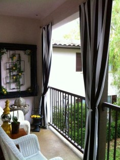 Exciting Small Balcony Decorating For Farmhouse30