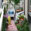 Exciting Small Balcony Decorating For Farmhouse44