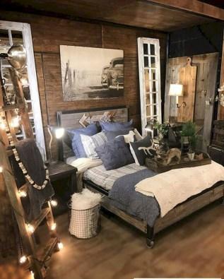 Lovely Urban Farmhouse Master Bedroom Remodel Ideas38