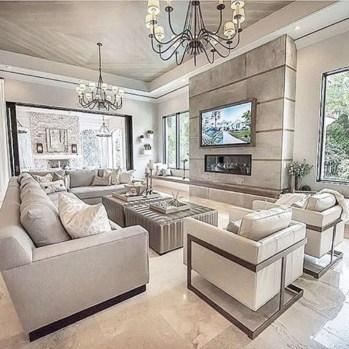 Luxurious And Elegant Living Room Design Ideas06