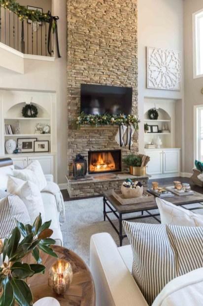 Luxurious And Elegant Living Room Design Ideas24